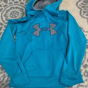 Blue Under Armour hoodie